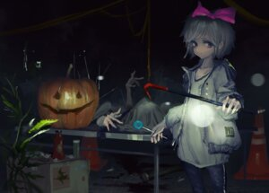 Rating: Questionable Score: 13 Tags: blood halloween tagme tougenkyou User: Dreista