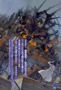 Rating: Safe Score: 8 Tags: isekai_wa_smartphone_to_tomo_ni. landscape mochizuki_touya monster seifuku thighhighs usatsuka_eiji yumina_urnea_belfast User: kiyoe