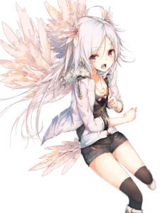 Rating: Safe Score: 56 Tags: la-na thighhighs wings User: Radioactive