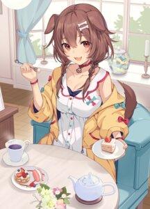 Rating: Safe Score: 35 Tags: animal_ears cleavage duplicate hololive ikomochi inugami_korone inumimi tail User: yanis