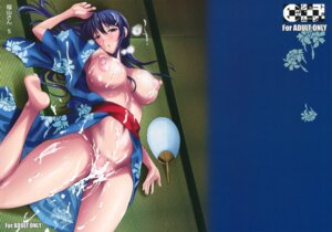 Rating: Explicit Score: 32 Tags: breasts cum fueta_kishi nipples no_bra nopan open_shirt robe shoot_the_moon User: 椎名深夏
