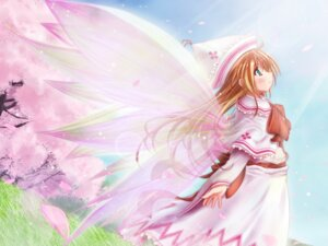 Rating: Safe Score: 9 Tags: dress fairy lily_white scarlet_(studioscr) touhou wallpaper wings User: konstargirl