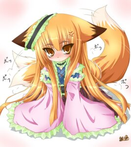 Rating: Safe Score: 11 Tags: japanese_clothes kazami_karasu kitsune User: konstargirl