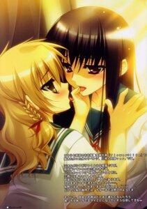 Rating: Questionable Score: 12 Tags: genderswap hinadamari katagiri_hinata ookiku_furikabutte seifuku yuri User: MirrorMagpie