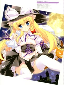 Rating: Questionable Score: 33 Tags: kirisame_marisa shigunyan thighhighs touhou User: midzki