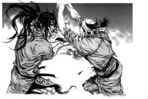 Rating: Questionable Score: 3 Tags: inoue_takehiko male monochrome vagabond User: Umbigo