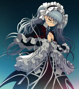 Rating: Safe Score: 43 Tags: axanael dress eyepatch game_cg gothic_lolita gun jpeg_artifacts lolita_fashion nitroplus nooko tsuji_santa User: van