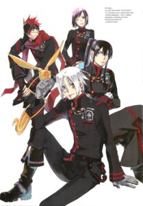 Rating: Safe Score: 4 Tags: allen_walker d.gray-man hoshino_katsura kanda_yu lavi lenalee_lee timcanpy User: Radioactive