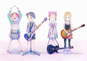 Rating: Safe Score: 15 Tags: ana_coppola guitar ichigo_mashimaro itou_chika matsuoka_miu megane nagareboshi sakuragi_matsuri User: animeprincess