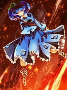 Rating: Safe Score: 8 Tags: kawashiro_nitori nekominase touhou weapon User: Injection