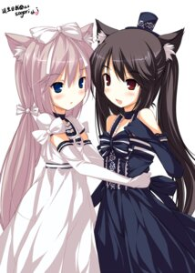 Rating: Safe Score: 34 Tags: animal_ears chocola ideolo lolita_fashion nekomimi vanilla User: cheese