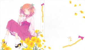 Rating: Questionable Score: 24 Tags: disc_cover harusaki_chiwa miko ore_no_kanojo_to_osananajimi_ga_shuraba_sugiru ruroo User: fireattack
