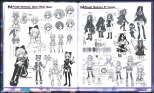 Rating: Safe Score: 10 Tags: character_design choujigen_game_neptune crease sketch thighhighs weapon User: Karm80