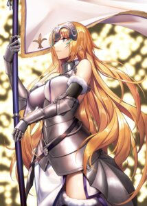 Rating: Safe Score: 22 Tags: armor fate/grand_order jeanne_d'arc jeanne_d'arc_(fate) thighhighs yagitome87 User: sym455