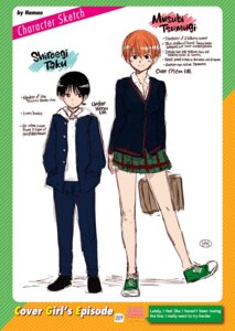 Rating: Safe Score: 4 Tags: digital_version hamao seifuku sketch sweater translated User: 8mine8