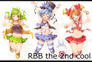 Rating: Questionable Score: 20 Tags: bell_(rbb) blue_(rbb) bra rainybluebell rainy_(rbb) rojiko seifuku thighhighs User: Nekotsúh
