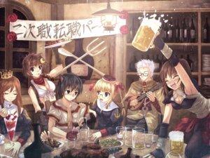 Rating: Safe Score: 9 Tags: assassin blacksmith megane monk priest ragnarok_online sage_(ro) wallpaper yakka User: fairyren