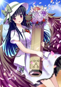 Rating: Safe Score: 33 Tags: gibuchoko kaenbyou_rin_(cat) reiuji_utsuho touhou wings User: Mr_GT