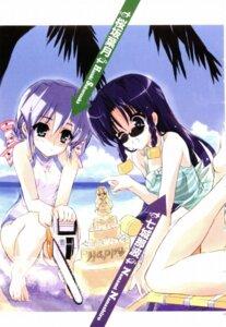 Rating: Safe Score: 9 Tags: chainsaw nanashiro_nanami nogizaka_haruka_no_himitsu sakurazaka_hazuki screening shaa swimsuits User: syaoran-kun