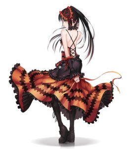Rating: Safe Score: 95 Tags: date_a_live dress gothic_lolita lolita_fashion ltt_challenger tokisaki_kurumi User: dyj