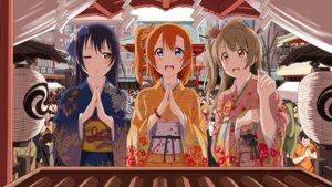 Rating: Safe Score: 30 Tags: kimono kousaka_honoka love_live! minami_kotori sonoda_umi tagme User: NotRadioactiveHonest