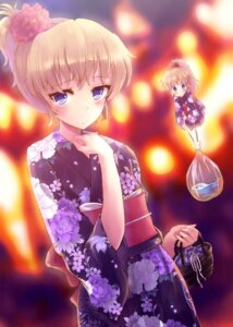 Rating: Safe Score: 40 Tags: alice_margatroid hyuuga_azuri shanghai touhou yukata User: Nekotsúh