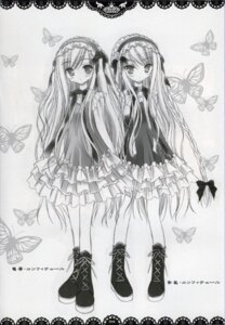 Rating: Safe Score: 14 Tags: lolita_fashion monochrome tinkle User: admin2