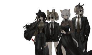 Rating: Safe Score: 7 Tags: animal_ears business_suit dress megane naruwe see_through User: Dreista