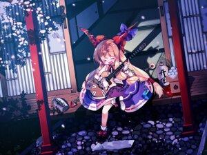Rating: Safe Score: 14 Tags: ibuki_suika touhou waki wallpaper User: konstargirl