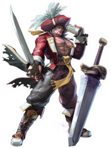 Rating: Safe Score: 6 Tags: cervantes_de_leon kawano_takuji male namco pirate soul_calibur soul_calibur_v sword weapon User: Yokaiou
