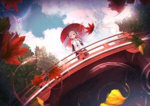 Rating: Safe Score: 26 Tags: hatsune_miku umbrella vocaloid worl_a User: Dreista
