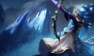 Rating: Safe Score: 4 Tags: armor ashe league_of_legends tagme weapon User: Radioactive