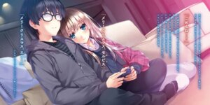 Rating: Questionable Score: 30 Tags: aki_tomoya megane misaki_kurehito possible_duplicate saenai_heroine_no_sodatekata sawamura_spencer_eriri User: kiyoe