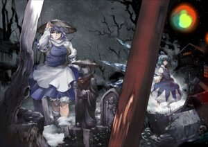 Rating: Safe Score: 4 Tags: cirno letty_whiterock tomotsuka_haruomi touhou User: Mr_GT
