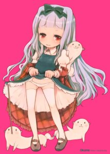Rating: Questionable Score: 13 Tags: loli okome_(ricecandy) pantsu skirt_lift thighhighs User: blooregardo