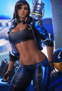 Rating: Safe Score: 77 Tags: cleavage overwatch pharah sakimichan User: Yuu-chan