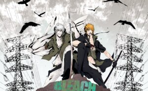 Rating: Safe Score: 5 Tags: 101sq bleach kurosaki_ichigo male sword User: RyuZU