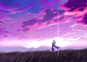 Rating: Safe Score: 30 Tags: fate/stay_night landscape saber yukitarou User: KiNAlosthispassword