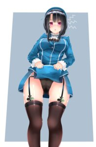 Rating: Questionable Score: 47 Tags: kantai_collection pantsu skirt_lift stockings surota takao_(kancolle) thighhighs uniform User: Mr_GT
