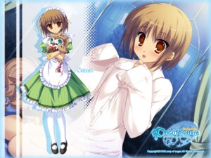 Rating: Safe Score: 24 Tags: dress_shirt lump_of_sugar maid prism_rhythm sesena_yau stitch trap wallpaper User: yuno