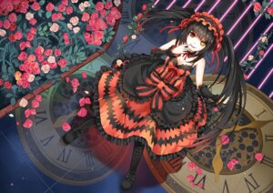 Rating: Safe Score: 89 Tags: cleavage date_a_live dress greetload heterochromia tokisaki_kurumi User: fairyren