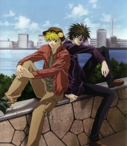 Rating: Safe Score: 1 Tags: amano_ginji get_backers male mido_ban User: charunetra