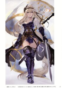 Rating: Questionable Score: 49 Tags: armor cleavage granblue_fantasy jeanne_d'arc jeanne_d'arc_(granblue_fantasy) oyu_(sijimisizimi) sword thighhighs User: kiyoe