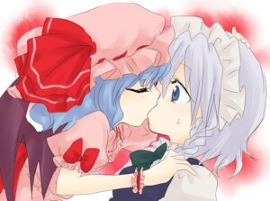 Rating: Safe Score: 8 Tags: izayoi_sakuya niji remilia_scarlet touhou wings yuri User: Radioactive