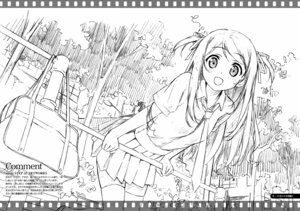 Rating: Safe Score: 12 Tags: kantoku monochrome sketch User: Kalafina
