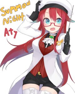 Rating: Safe Score: 37 Tags: aty kou_mashiro megane summon_night summon_night_3 thighhighs User: Radioactive