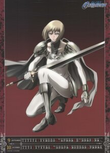 Rating: Safe Score: 6 Tags: armor calendar clare claymore sword User: Radioactive