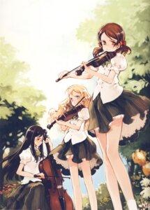 Rating: Safe Score: 43 Tags: charlotte_francia juni_argiano li_shuhua megane oyari_ashito quartett! seifuku User: shunya