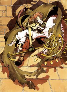 Rating: Safe Score: 9 Tags: clamp kinomoto_sakura li_syaoran tsubasa_reservoir_chronicle User: Radioactive