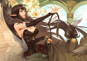 Rating: Safe Score: 50 Tags: cleavage dress fate/grand_order pointy_ears semiramis_(fate) seo_g User: Mr_GT